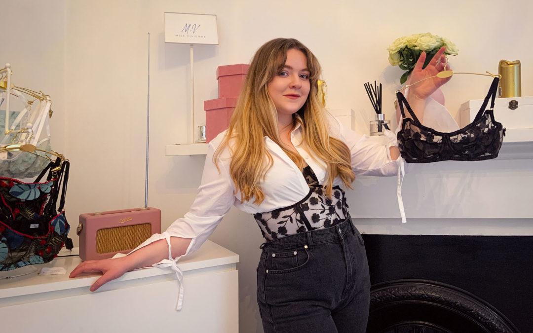 Working With Endometriosis: Miss Vivienne Lingerie