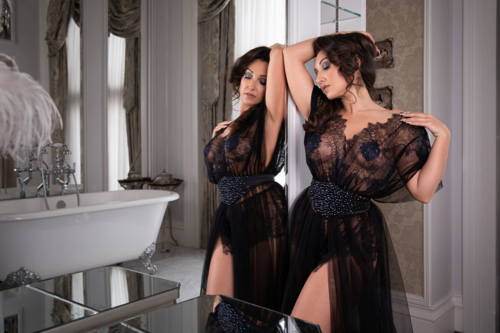 A Luxe Editorial Brand Shoot For Luxury Lingerie Designer Emiah Couture