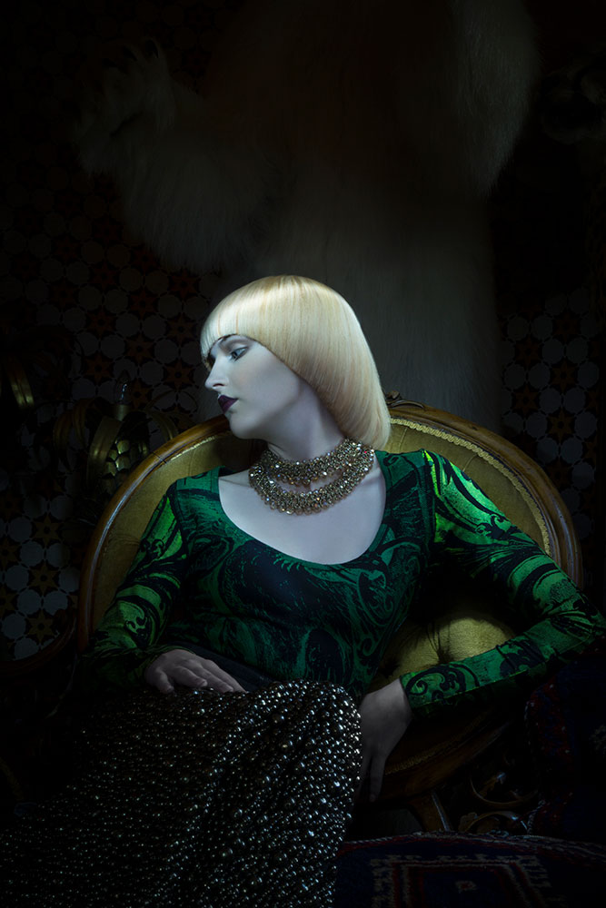 Quaintrelle Haringtons Hair Editorial © Tigz Rice Studios 2016. https://brandingbytigz.com