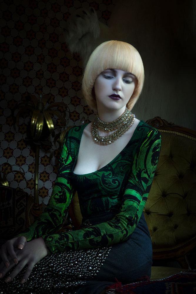 Quaintrelle Haringtons Light Painting Hair Editorial Photography © Tigz Rice Studios 2016. https://brandingbytigz.com